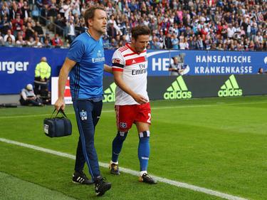 Nicolai Müller hat sich bei seinem Torjubel verletzt