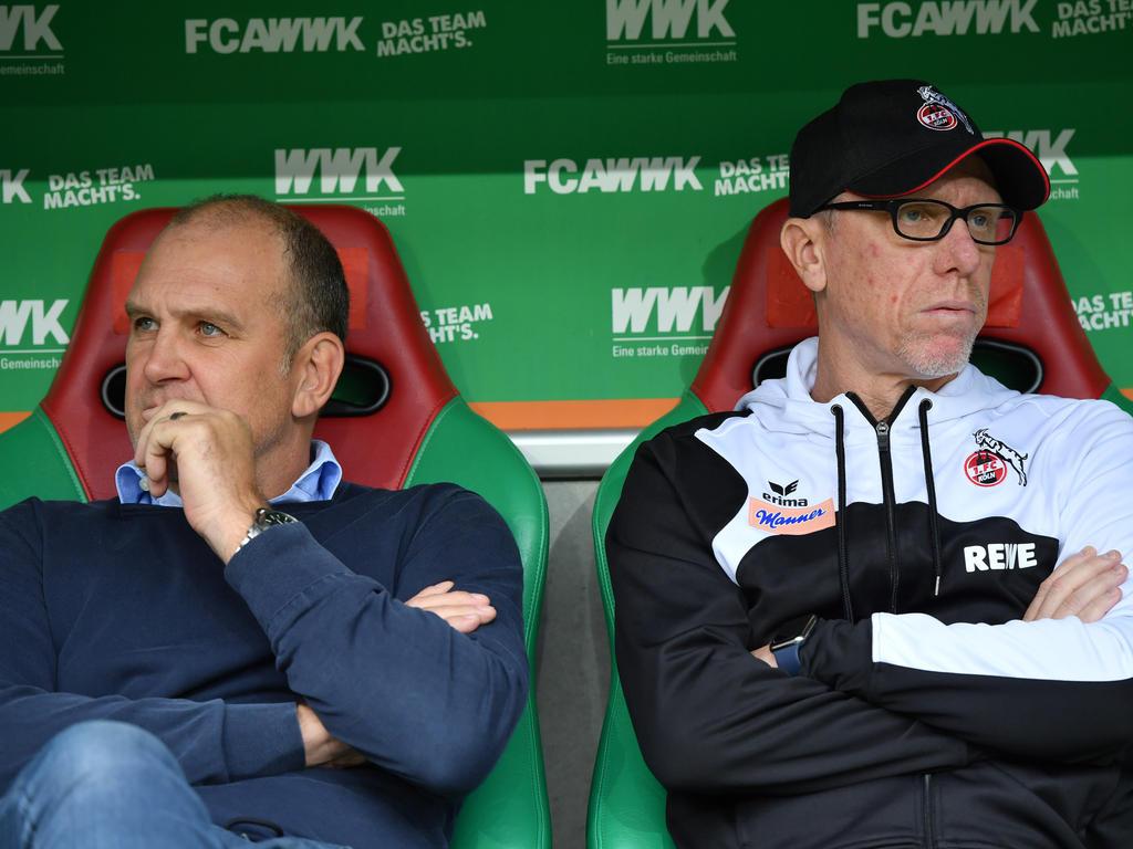 Die Verantwortlichen beim 1. FC Köln hoffen nach dem Bundesliga-Fehlstart auf die Kehrtwende in der Europa League