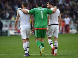 Gianluigi Buffon blieb in Italiens Serie A 973 Minuten ohne Gegentor