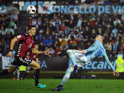 Espectacular acción de Aspas en Copa del Rey. (Foto: Getty)