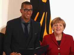 Angela Merkel stellt sich hinter Jérôme Boateng