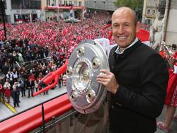 Robben und die Bayern wollen auch 2017 Meister werden