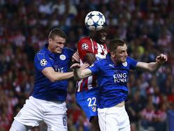 Huth fehlt im Rückspiel, Vardy muss allein für Leicester kämpfen