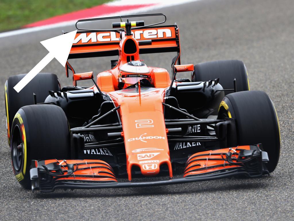 Bald reif für das Museum? Der T-Flügel am McLaren MCL32