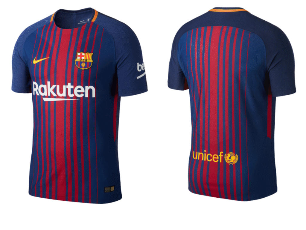 FC Barcelona (Heimtrikot)
