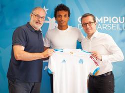 Luiz Gustavo schließt sich OM an (Bildquelle: twitter.com/om_officiel)