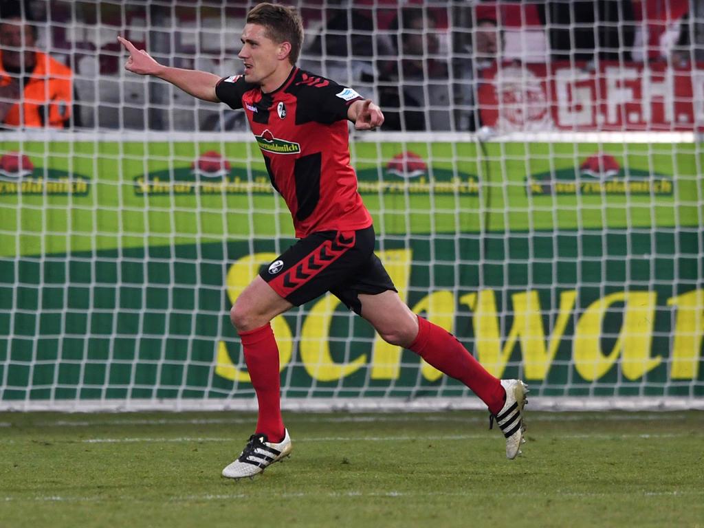 Nils Petersen erzielte die Führung