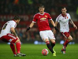 Bastian Schweinsteiger verletzte sich in der Schlussphase gegen Sheffield United