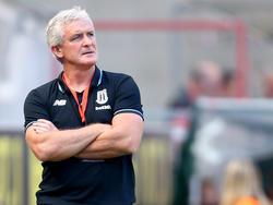 Mark Hughes hat ein Hobby: Der Stoke-Manager sammelt Champions-League-Sieger