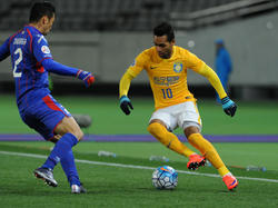 Alex Teixeira und der Jiangsu Suning F.C. schieden aus