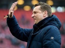 Horst Heldt ist davon überzeugt, dass Leroy Sané Schalke bald verlassen wird