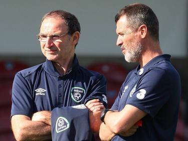 O'Neill (l.) und Keane bleiben Irlands Coaches
