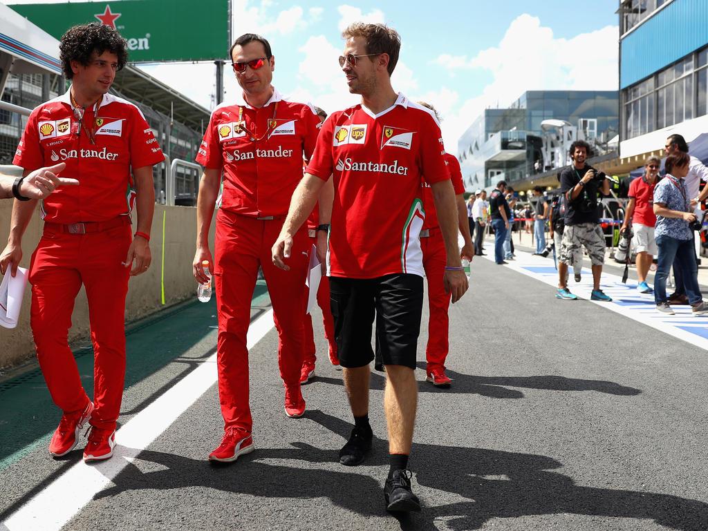 Gibt den Titeltraum nicht auf: Sebastian Vettel