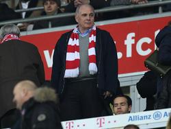 Uli Hoeneß ist mit der aktuellen Verfassung seiner Bayern sehr zufrieden