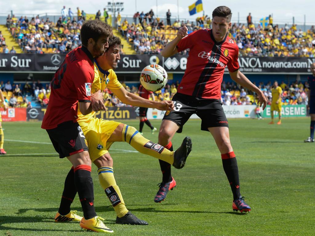 Héctor Yuste es clave en el Mallorca. (Foto: Imago)