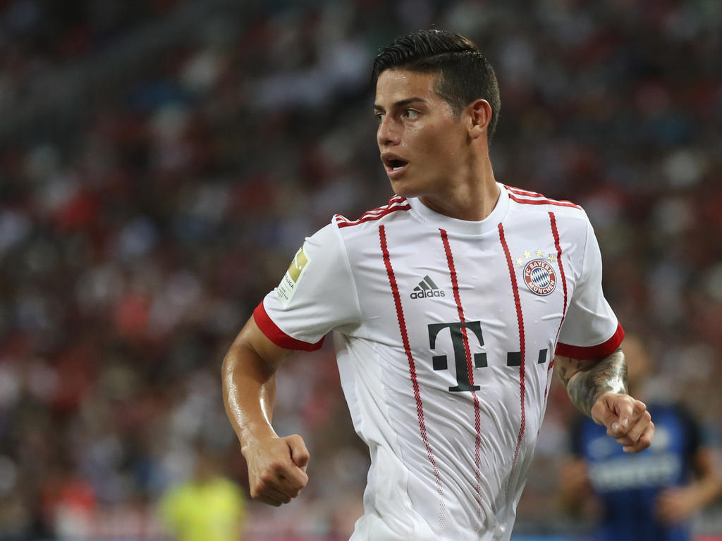 Bayern-Neuzugang James Rodríguez musste trotz Verletzung zum Nationalteam