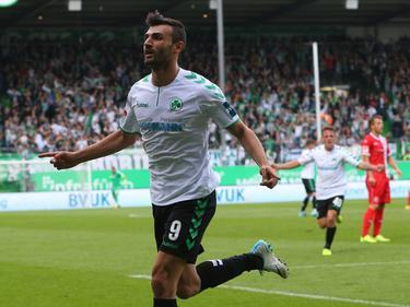 Serdar Dursun traf gegen die Fortuna doppelt