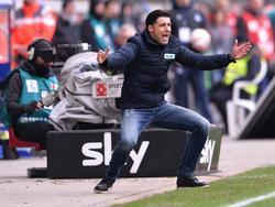 Ilia Gruev konnte mit seinem Team nicht zufrieden sein
