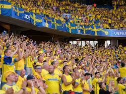 Schwedische Fans gelten als besonders feierfreudig