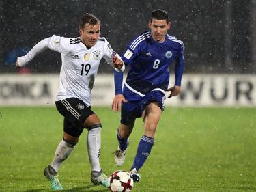 Im Regen von San Marino ließ die DFB-Elf San Marino keine Chance