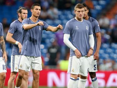 Gareth Bale, Cristiano Ronaldo und Toni Kroos (v.l.n.r.) fehlen im Real-Kader