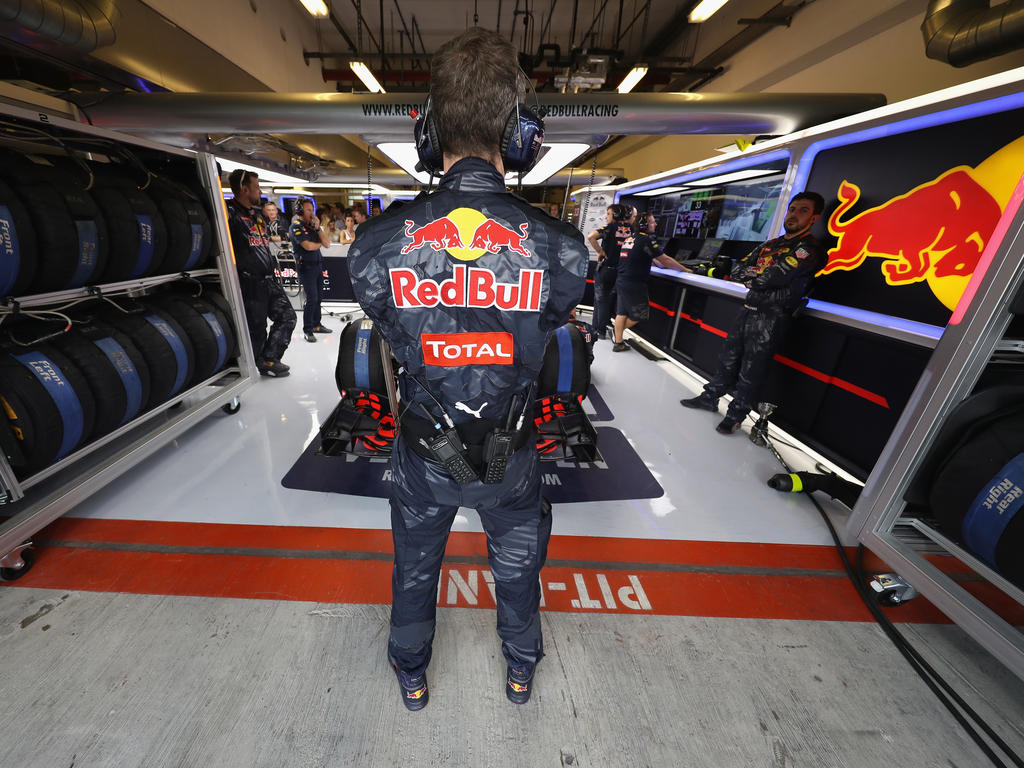 Das Team von Red Bull Racing bereitet sich auf die neue Saison vor
