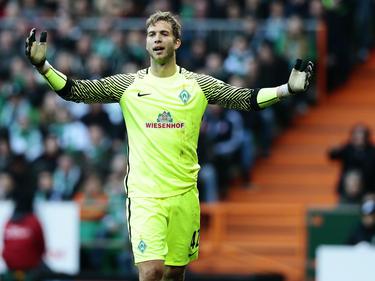 Geht er oder bleibt Felix Wiedwald beim SV Werder Bremen