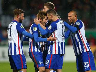 Hertha jubelt über den nächsten Schritt Richtung Finale