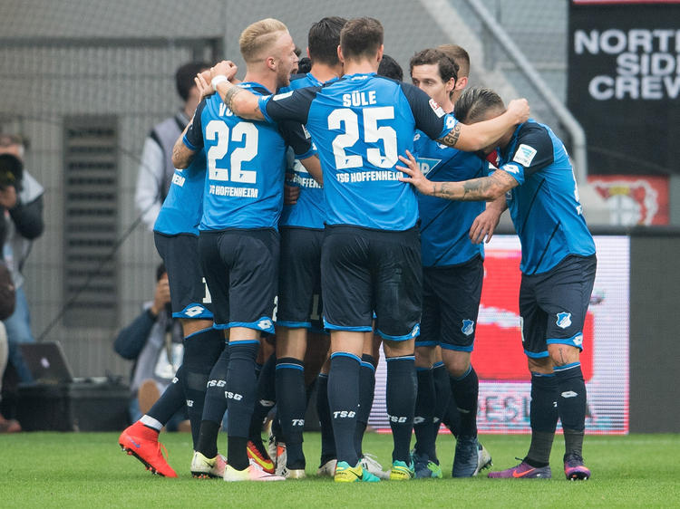 Die Hoffenheimer setzten sich in Leverkusen durch