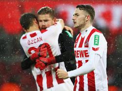 Die Kölner feierten gegen Wolfsburg ihren ersten Saisonsieg