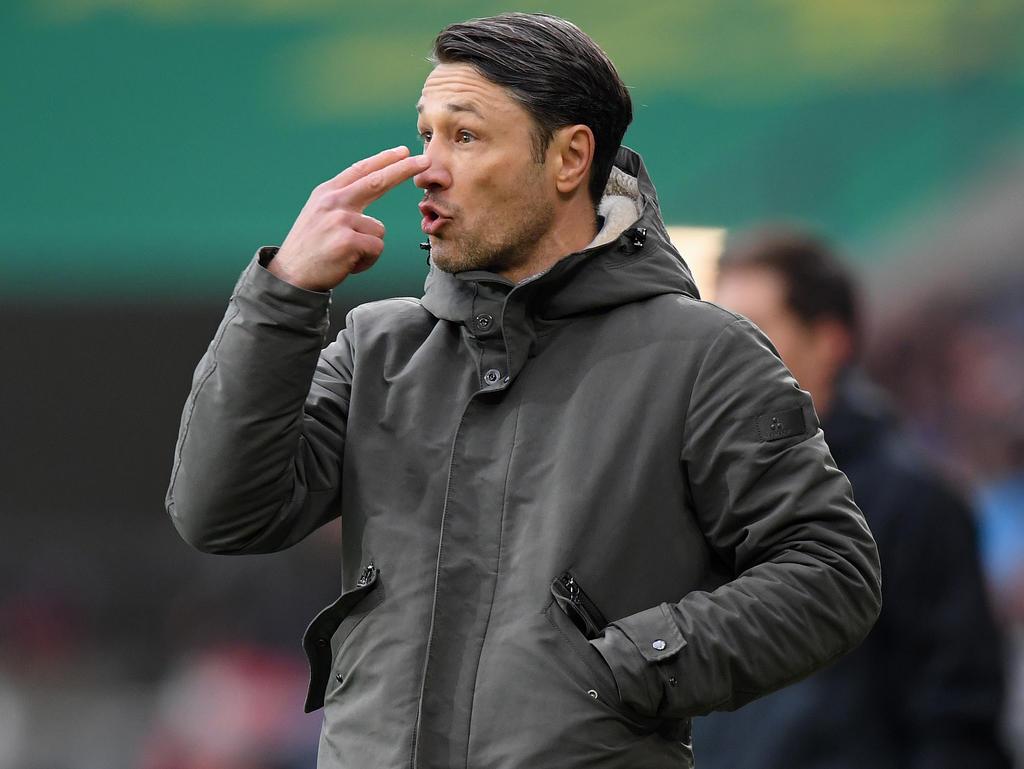 Niko Kovac leistet in Frankfurt ziemlich erfolgreiche Arbeit