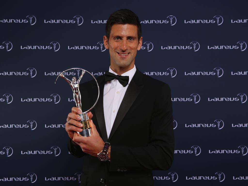 Strahlender Sieger in Berlin: Novak Djokovic