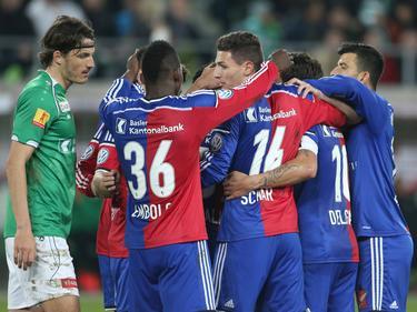 Die Baseler werden im Cupfinale gegen Sion antreten