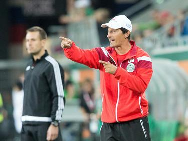 Ivica Vastić will mit seinen Mattersburgern die Rote Laterne abgeben