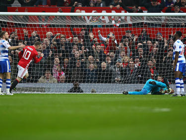 Wayne Rooney erzielte sein 249. Treffer für Manchester United