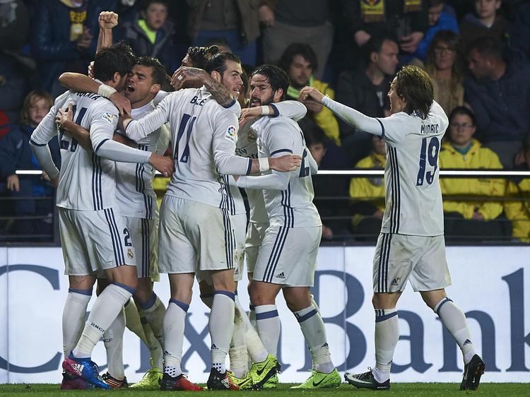 El Real Madrid lleva 44 partidos consecutivos marcando. (Foto: Getty)