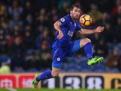 Christian Fuchs ist mit Leicester wieder auf Erfolgskurs