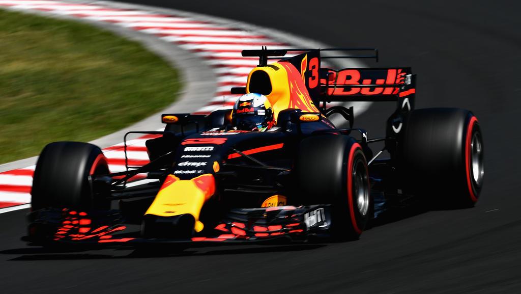 Defekt bei Ricciardo
