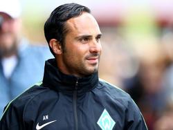 Alexander Nouri arbeitet intensiv auf das Spiel gegen Köln hin