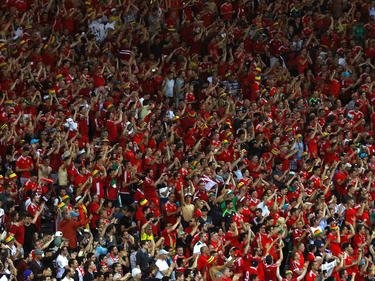 Die Fans aus Wales gehören zu den besten der EURO