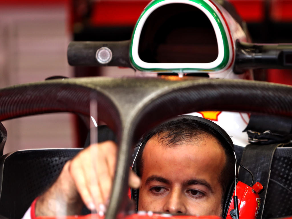 Der Schutzbügel Halo wird in Spa erstmals von Mercedes getestet