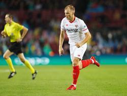 Johannes Geis hatte bereits vor dem Spiel gegen Liverpool von Berizzos Erkrankung erfahren
