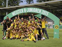 Der BVB ist B-Junioren Meister