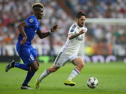 Paul Pogba (l.) trägt nächstes Jahr wohl nicht das Trikot von Real Madrid