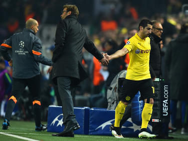 Jürgen Klopp und Henrikh Mkhitaryan arbeiteten von 2013 bis 2015 in Dortmund zusammen