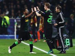 Mönchengladbach ist mit dem Punktgewinn gegen Macnhester City zufrieden