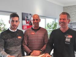 Franz Maresch (Mitte) soll den FAC in der Ersten Liga halten