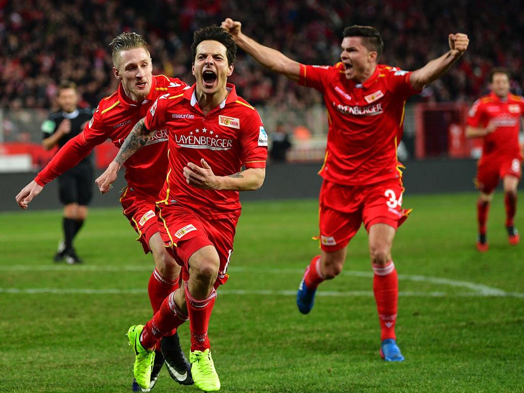 Union Berlin hat die Tabellenführung in der 2. Bundesliga übernommen