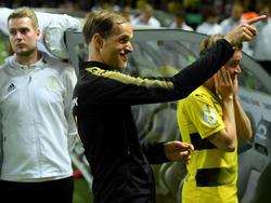 Thomas Tuchel war nach dem Pokal-Sieg überglücklich