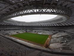 Der Umbau der WM-Stadien schreitet voran